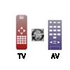 Hỗ trợ 2 remote cùng điều khiển đồng thời