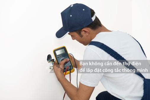 Bạn không cần thợ điện chuyên nghiệp để lắp đặt công tắc Batto